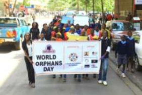 World Orphans Day Sign