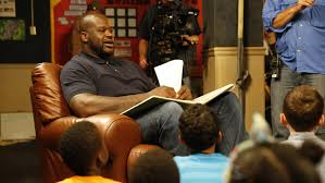 Shaquille O'Neal Reading to Children