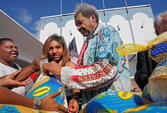 Don King Charity Work